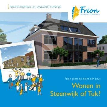 Wonen in Steenwijk of Tuk? - Frion