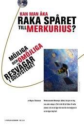 Läs artikeln som pdf - Populär Astronomi