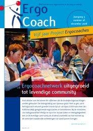 Ergocoachnetwerk uitgegroeid tot levendige community - YLM
