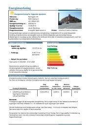 Energimærkning - Kollegieboligselskabet