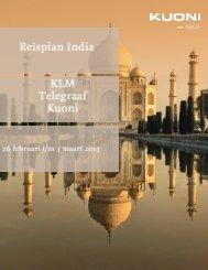 Reisplan - Travel Reporter Reis - De Telegraaf