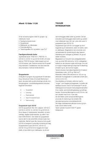 Varmetabsberegning af tavler fra (LK Katalog 2012) - Tekniske ...