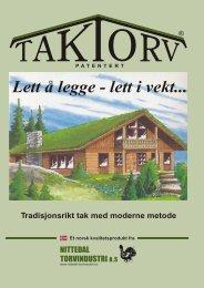 Torvtak - Anlægsgartnerfirma Bjarne Green