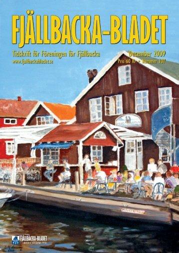 Tidskrift för Föreningen för Fjällbacka December 2009