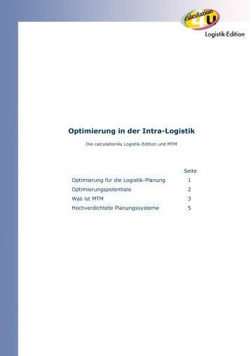 calculation4u und MTM - c4u Logistik-Edition