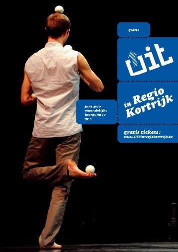 UiT in Regio Kortrijk juni 2010