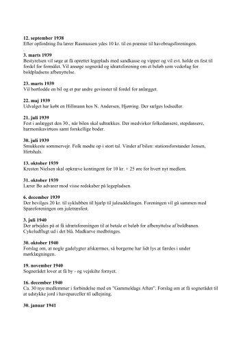 12. september 1938 Efter opfordring fra lærer ... - jerslev.net
