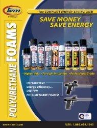 Foams Brochure - TVM Building Products