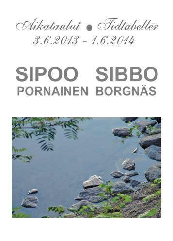 sipoo sibbo pornainen borgnäs - Sibbesborg