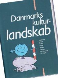 1. kapitel. Danmarks kulturlandskab - gabor.dk