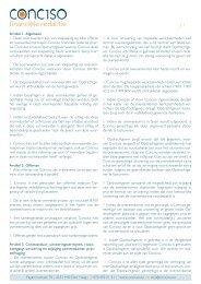 Artikel 1. Algemeen 1. Deze voorwaarden zijn van toepassing op ...