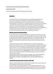 AGpR Thesenpapier zu geschlossene Heime - Deutsche ...