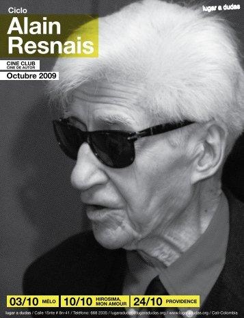 Alain Resnais - Lugar a Dudas