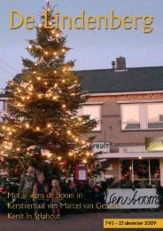 De Lindenberg 745 - 23 december 2009 - Stiphout NU