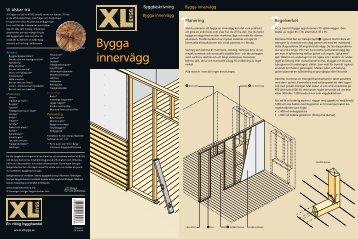 Bygga innervägg - XL Bygg
