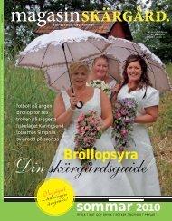 sommar 2010 - Magasin Skärgård