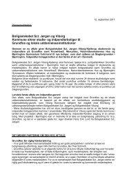 Læs pressemeddelelsen fra 12.09.2011 - Boligkontoret Danmark