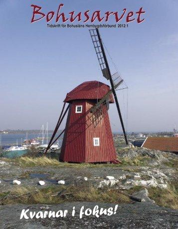 Bohusarvet 2012-1.indd - Bohusläns hembygdsförbund