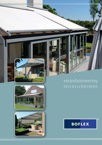 verandazonwering terrasschermen - Boflex