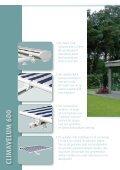 verandazonwering terrasschermen - Boflex - Page 6
