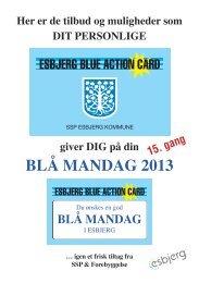 BLÅ MANDAG 2013 - Blue Action Planner