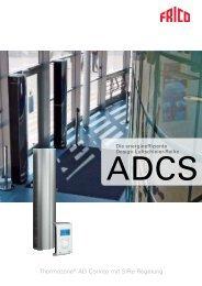 Luftschleier- Reihe ADCS - Systemair