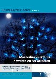 Maart 2012 - Index of - Universiteit Gent