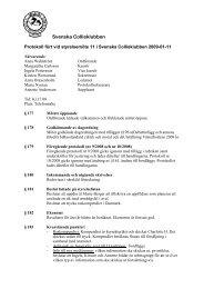 Protokoll 11/09-01-30 - Svenska Collieklubben