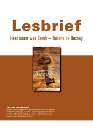 lesbrief Haar naam was Sarah.pdf - Eenvoudig Communiceren