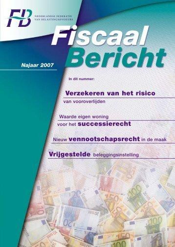 Verzekeren van het risico voor het successierecht Nieuw ...