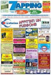 Zapping 04 – 2009 - diAlessandria.it
