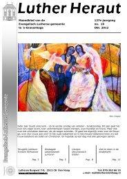 Okt - Evangelisch Lutherse Gemeente Den Haag