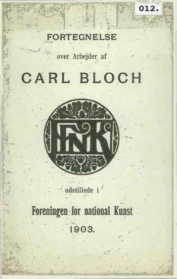 CARL BLOCH