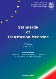 Standards of Transfusion Medicine - Simti