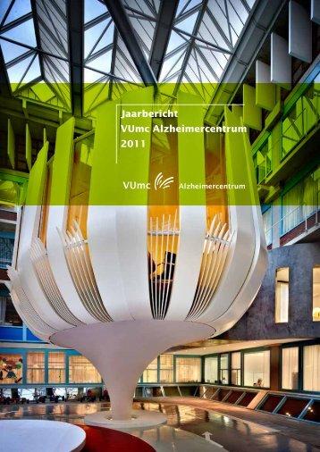 Jaarbericht VUmc Alzheimercentrum 2011