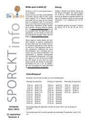Jaargang 2011-2012 22 september Nummer 3 ... - Xpect Primair