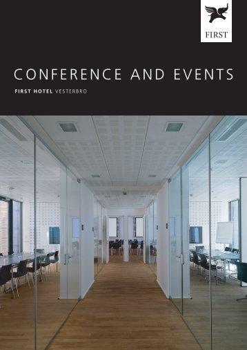 konference på first hotel vesterbro - First Hotels