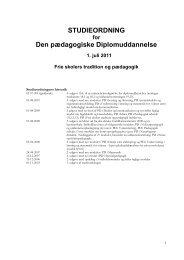 Studieordning 2011 - University College Lillebælt