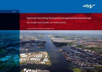Optimale benutting bestaand havengebied Noordzeekanaal