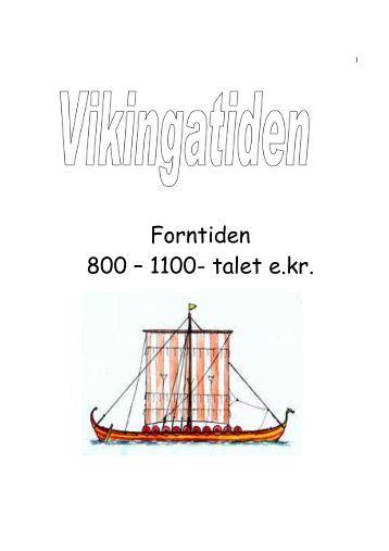 Fakta häfte med frågor Vikingatiden i Sverige och Norden - lemshaga
