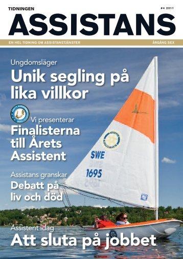 Assistans 4/2011 - Tidningen Assistans