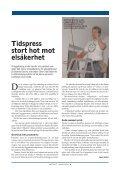 Elsäkerhetsverkets nyhetsbrev Aktuellt - Voltimum - Page 6