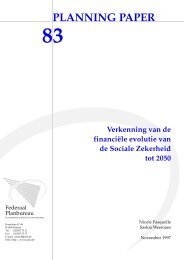 nl - Bureau fédéral du Plan