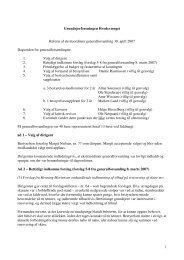 Referat fra den eksraordinære generalforsamling - Hvedevænget