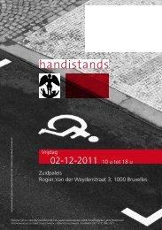 handistands - Brussel