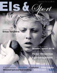 Erica Terpstra Pieter Winsemius Spelen, sport ... - Els Van Noorduyn