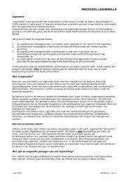 Protocol Legionella - Facilicom