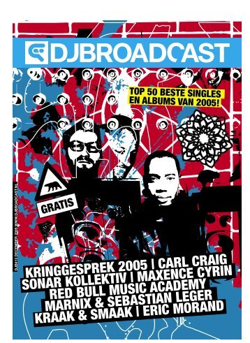 kringgesprek 2005 | carl craig sonar kollektiv ... - DJBroadcast