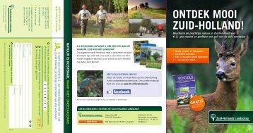 ONTDEK MOOI ZUID-HOLLAND! - Het Zuid-Hollands Landschap
