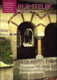 Ruimtelijk dec. 2003 - Stichting Ruimte Roermond
